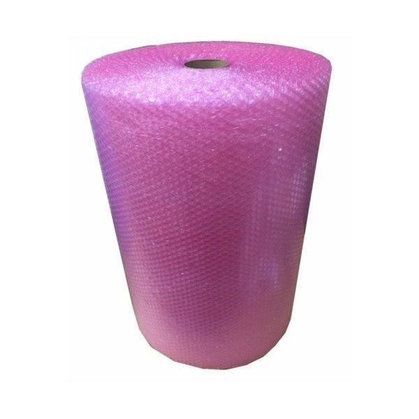 静電防止ピンクエアパッキン600mm×42m×2巻パック 静電気が起こらない気泡緩衝材
