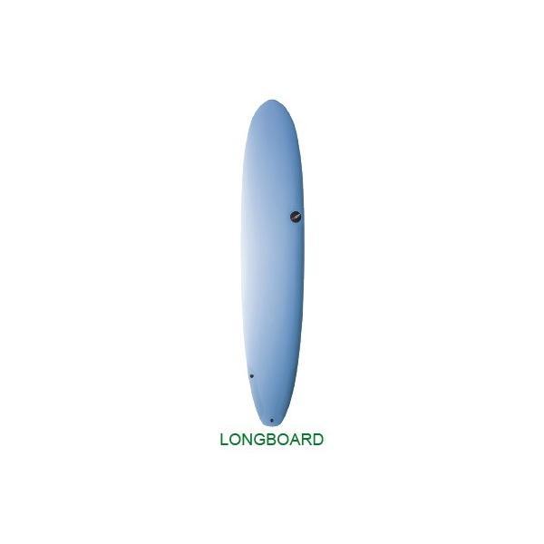 NSP Surfboard PROTECH LONG 8.0 Sky Blue◆NSP サーフボード ロングボード|lalalady-shop
