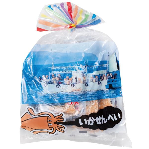 いかせんべい 15枚入×10袋入箱 オーケー製菓 青森県 弘前市 いかせん いか煎餅  数量限定入荷|lalasite