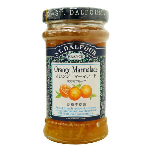 オレンジマーマレード サン・ダルフォー 170g 瓶 砂糖不使用 スプレッド フランス産
