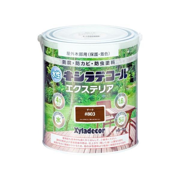 大阪ガスケミカル 水性キシラデコール エクステリアS 1.6L チーク