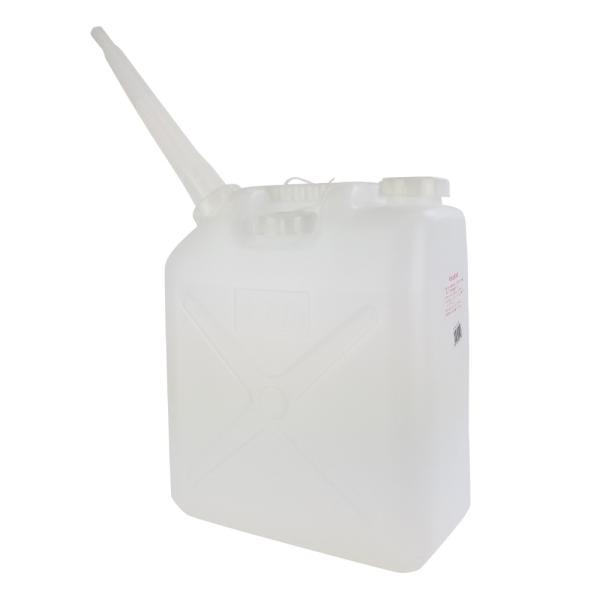 ■3個まで1個口■ポリタンク 「水入缶」20L /ノズル付 [送料無料対象外]