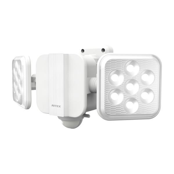 ライテックス LEDセンサーライト ソーラー式 5W×2灯フリーアーム式 S-220L