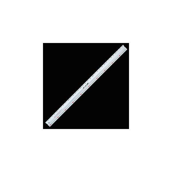 シンワ測定 アルミカッター定規 カット師 1m 併用目盛 65090