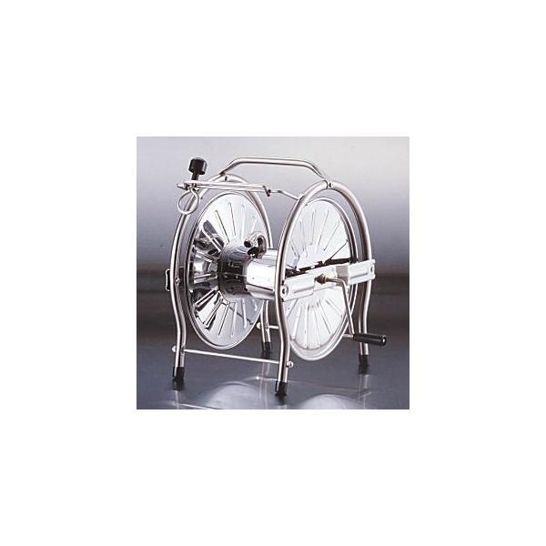 グリーンライフ  ステンレスホースリール [ドラム] 20〜25m巻用 SH-S