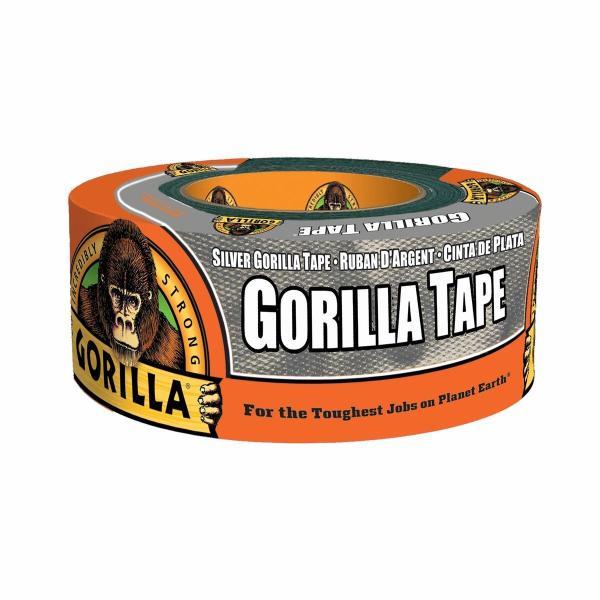 呉工業 ゴリラテープ シルバー 1775 超強力多接着 厚手 ダクトテープ 補修テープ