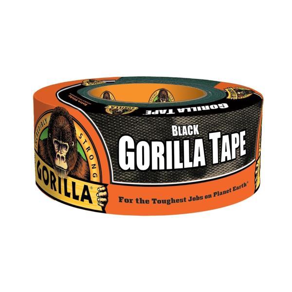 呉工業 ゴリラテープ ブラック 1776 超強力多接着 厚手 ダクトテープ 補修テープ