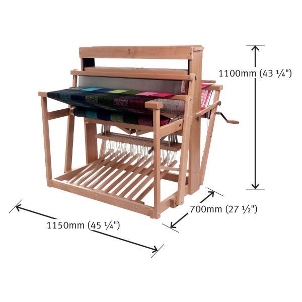 アシュフォード ジャックルーム jackloom ラッカー塗装 組立キット <織機 手織り機 機織り機 ashford>  予約制|lamerr|04