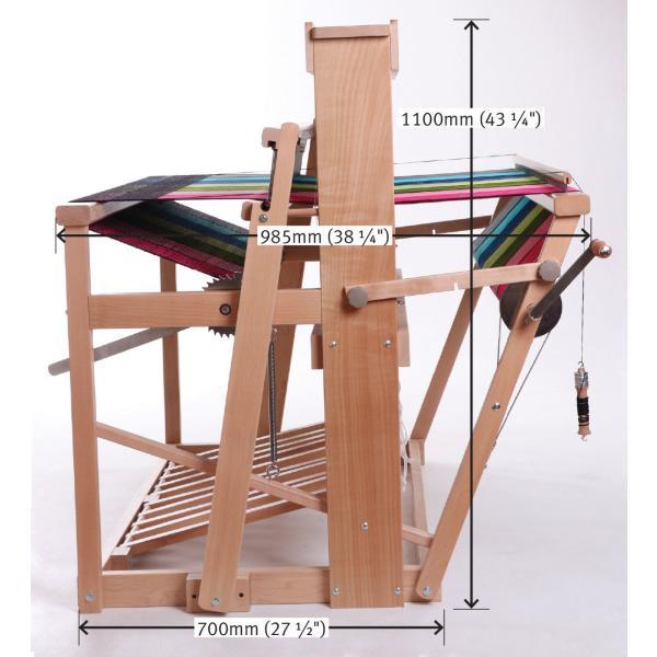 アシュフォード ジャックルーム jackloom ラッカー塗装 組立キット <織機 手織り機 機織り機 ashford>  予約制|lamerr|05