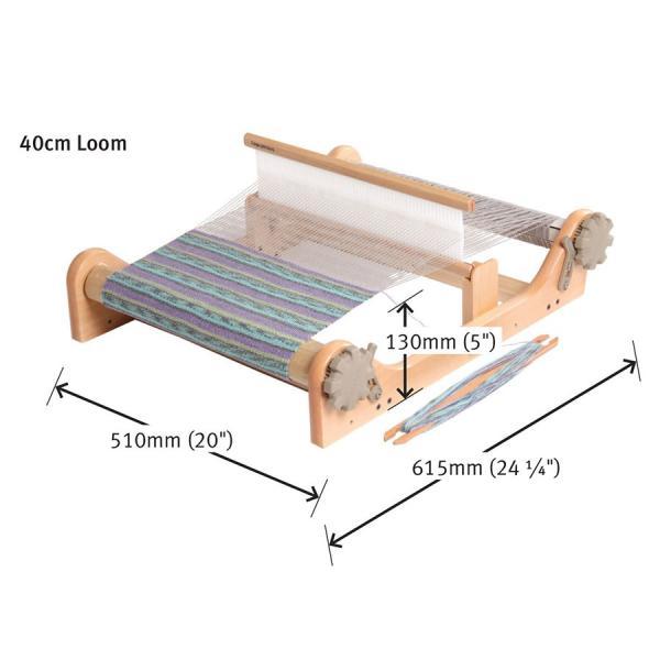 アシュフォード リジッドヘドル40cm 白木 組立キット <卓上 手織り機 ashford>|lamerr|02