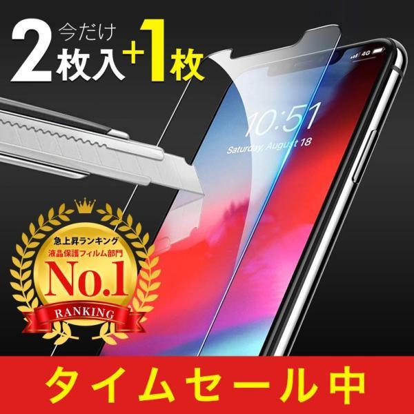 【2枚セット】iPhone 保護フィルム ガラスフィルム iPhoneXR iPhoneXS Max iPhoneX iPhoneXS 硬度9H 強化ガラス 液晶保護 lamio