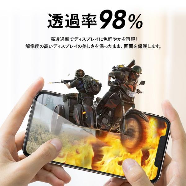 【2枚セット】iPhone 保護フィルム ガラスフィルム iPhoneXR iPhoneXS Max iPhoneX iPhoneXS 硬度9H 強化ガラス 液晶保護 lamio 09