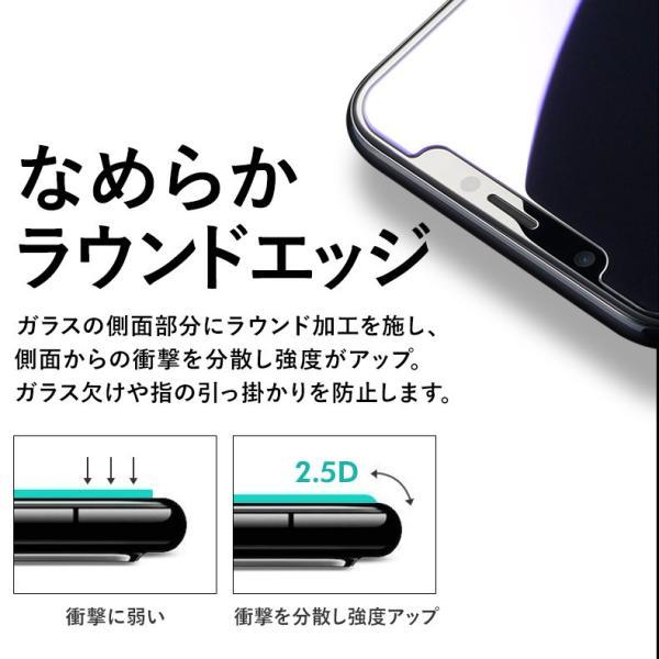 【2枚セット】iPhone 保護フィルム ガラスフィルム iPhoneXR iPhoneXS Max iPhoneX iPhoneXS 硬度9H 強化ガラス 液晶保護 lamio 10
