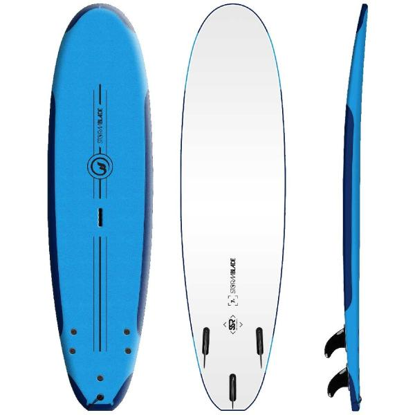 サーフボード ソフトボード STORM BLADE 7ft PERFORMANCE SSR SURFBOARDS|lanai-makai