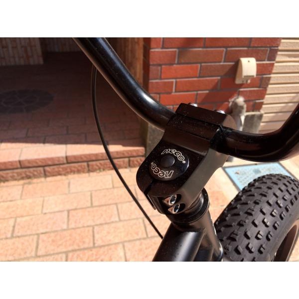ファットバイク 20インチ 極太タイヤ おしゃれ 自転車 通勤 通学 ブロンクスファットバイク 20BRONX マットブラック×ブラックリム|lanai-makai|10