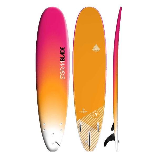 サーフボード ソフトボード STORM BLADE 8ft SURFBOARDS|lanai-makai