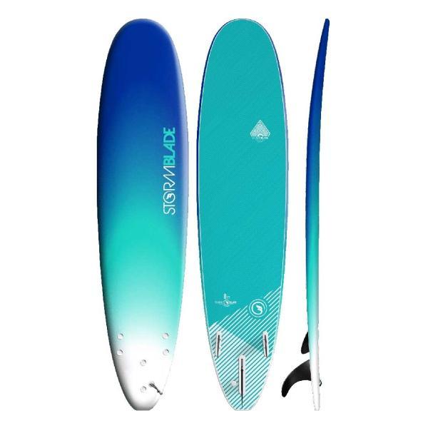 サーフボード ソフトボード STORM BLADE 8ft SURFBOARDS|lanai-makai|07