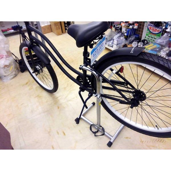 自転車 メンテナンス スタンド WST-DX 電動自転車対応修理台|lanai-makai|06