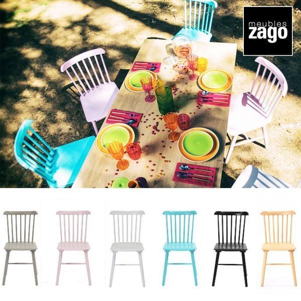 ダイニングチェア 北欧 ウィンザーチェア 木製 無垢 おしゃれ 椅子 カフェ ナチュラル zago ザーゴ OSLO ナチュラル L-C300