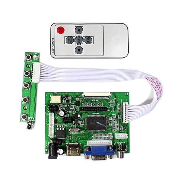 HDMI VGA 2AV 信号入力コントローラ基板 8インチ800x600 50ピンTTL 液晶パネルに対応 (800x600 50P)