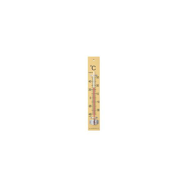 佐藤計量器 板付温度計(フック箱) 1510-40