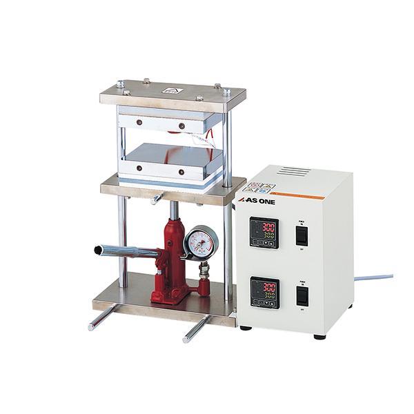 【直送・代引き不可】 小型熱プレス機 0〜5t H300-05 2-7903-12