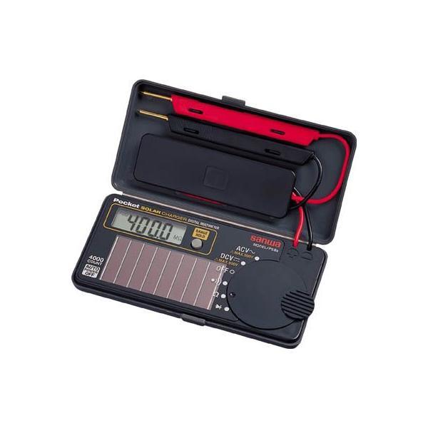 三和電気計器 SANWA ソーラー充電ポケット型デジタルマルチメータ PS8A