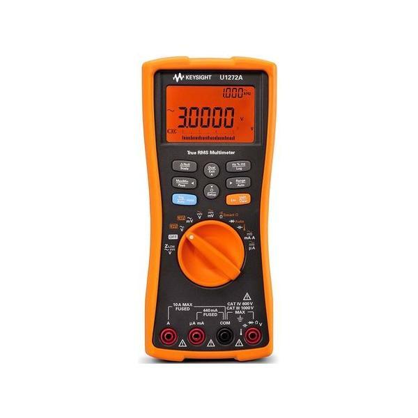 KEYSIGHT デジタルマルチメータ (ハンドヘルドタイプ)分解能:0.001mV dc U1272A