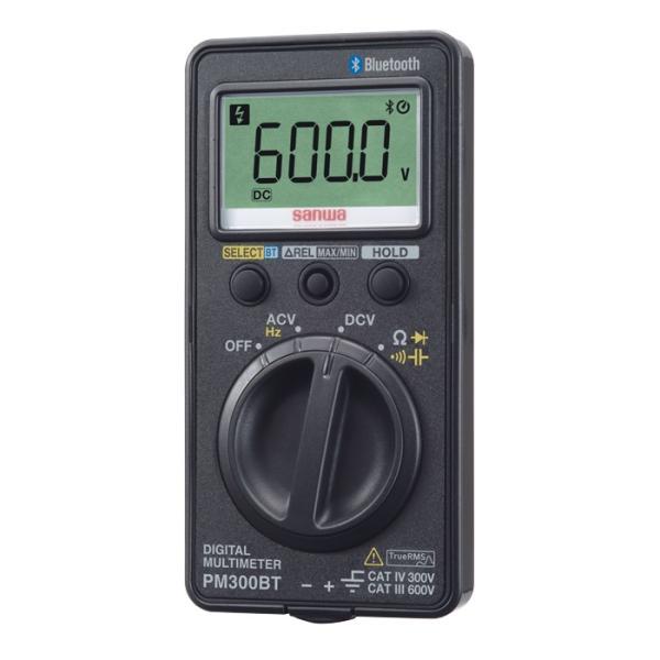 三和電気計器 Bluetooth対応デジタルマルチメータ PM300BT