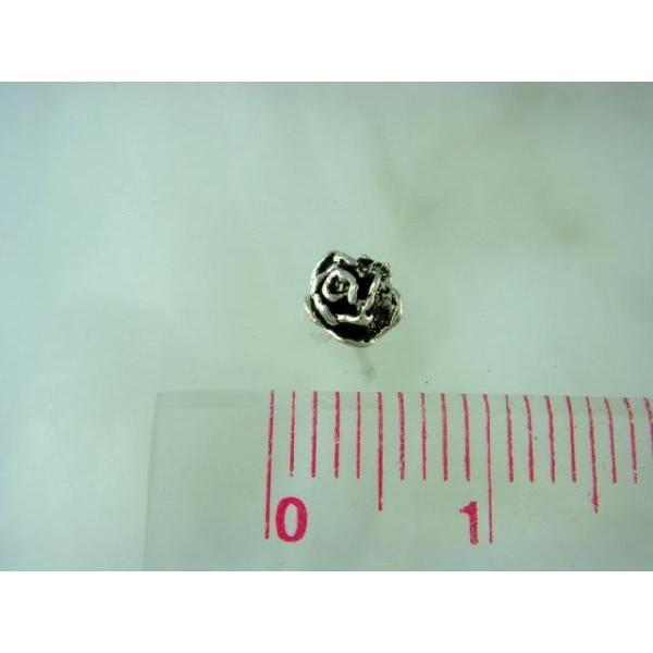 シルバーピアス レディース 小さい 薔薇 バラ ピアス (直径5mmタイプ)|laplateriashu|05