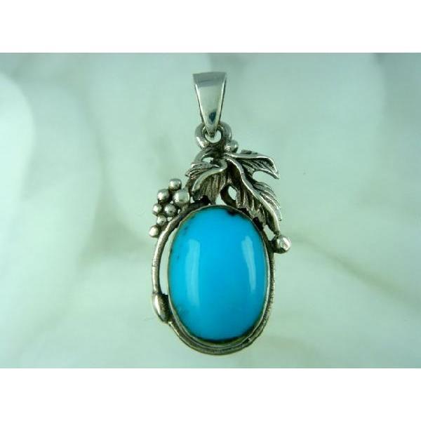 シルバー925 大粒の石がまるでフルーツのような青い石付きペンダントトップ  silver925 シルバーアクセサリー シルバー製 ペンダントヘッド メンズ|laplateriashu|05