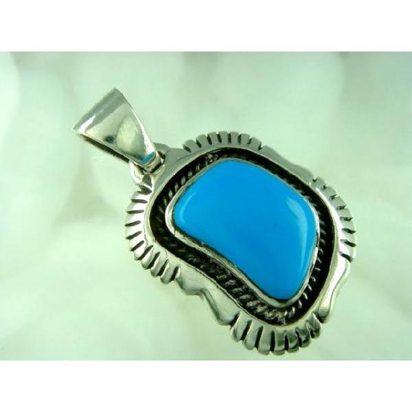 シルバー925 いびつな形がかわいらしい青い石付きペンダントトップ  silver925 シルバーアクセサリー シルバー製 ペンダントヘッド メンズ|laplateriashu|02
