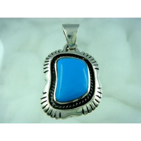 シルバー925 いびつな形がかわいらしい青い石付きペンダントトップ  silver925 シルバーアクセサリー シルバー製 ペンダントヘッド メンズ|laplateriashu|05