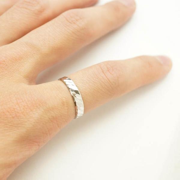 シルバー925 メンズ レディース リング シンプル カットデザインがキレイに輝く指輪 silver925 シルバーアクセサリー|laplateriashu|04