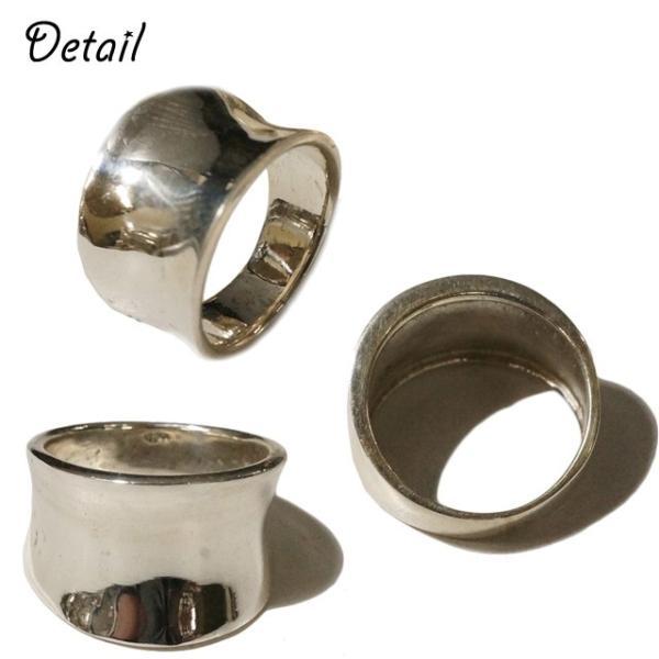 ピンキーリング シルバーリング メンズ レディース 指輪 シンプル 逆甲丸 シルバー925 silver925 シルバーアクセサリー|laplateriashu|02