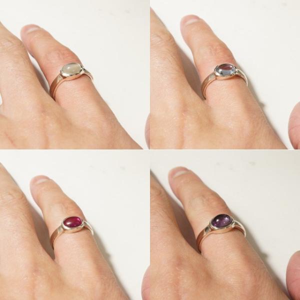 リング 指輪 シルバー925 メンズ レディース 天然石 一粒アゲートリング|laplateriashu|04