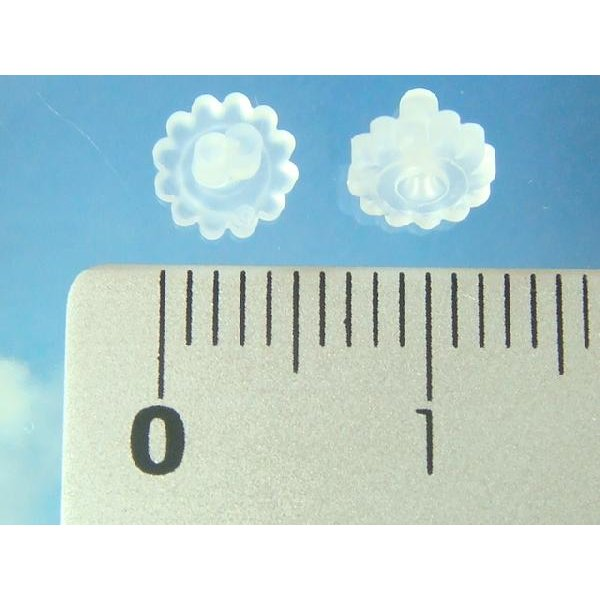 5ペアー(10個セット)ピアスならシリコンキャッチが便利 シリコンゴムピアスキャッチ|laplateriashu|03