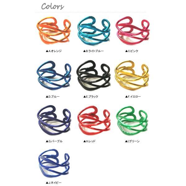 バラ売り カラー10種類のシンプル模様のイヤーカフス|laplateriashu|02