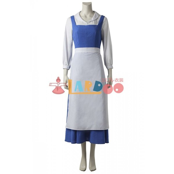 美女と野獣 ベル(bell) メイド服 アニメ コスプレ衣装