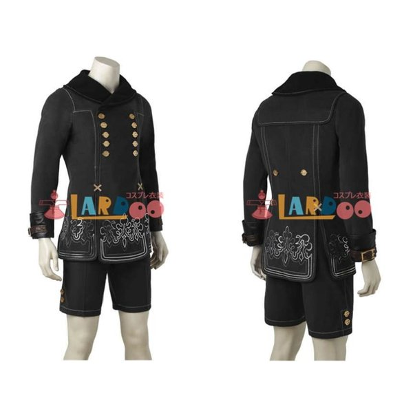 NieR:Automata ニーア オートマタ ヨルハ九号S型/9S コスプレ衣装 激安 アニメ コスチューム ゲーム 仮装 cosplay|lardoo-store|06