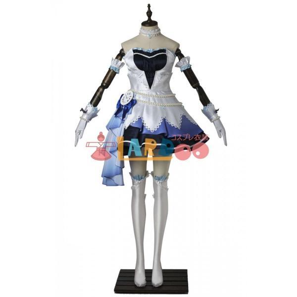 アイドルマスター シンデレラガールズ スターライトステージ ブルー コスプレ衣装 激安 アニメ コスチューム 仮装 cosplay