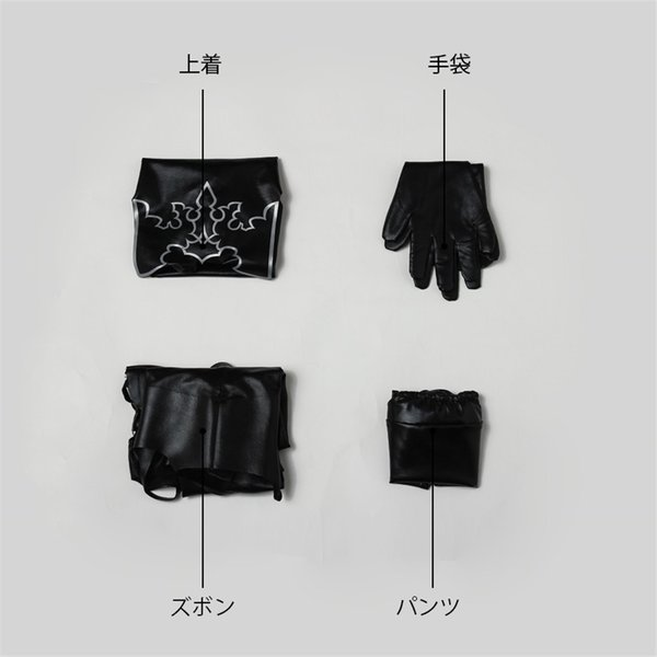 NieR:Automata ニーア オートマタ A2 ヨルハA型二号 コスプレ衣装 激安 アニメ コスチューム 仮装 cosplay|lardoo-store|05