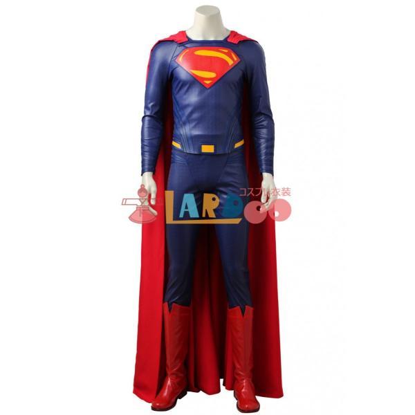 ジャスティス・リーグ Justice League クラーク・ケント / スーパーマン コスプレ衣装+ブーツ