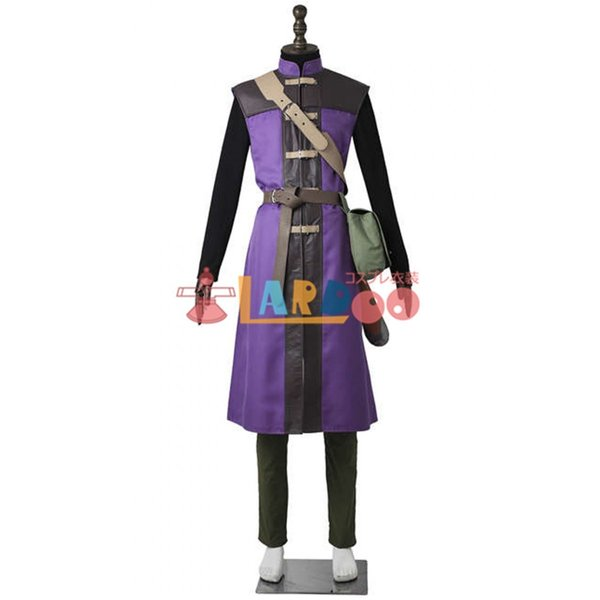 Dragon Quest XI Passing through the time hero Cosplay Costume + Boots Cheap Anime Costume Masquerade Cosplay