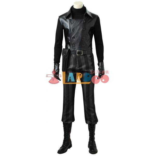 スパイダーマン ノワール Spider-Man Noir マンガ版 コスプレ衣装