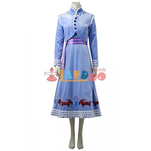 アナと雪の女王/家族の思い出 アナ コスプレ衣装