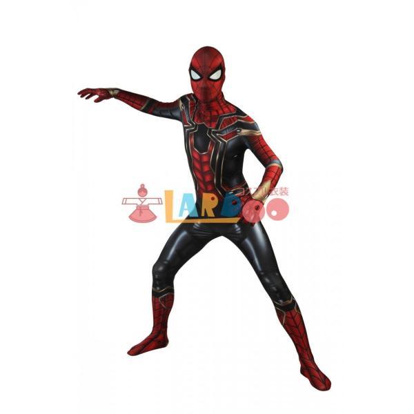アベンジャーズ/インフィニティ・ウォー スパイダーマン Spider Man ピーター・パーカー コスプレ衣装 コスチューム 仮装 cosplay|lardoo-store