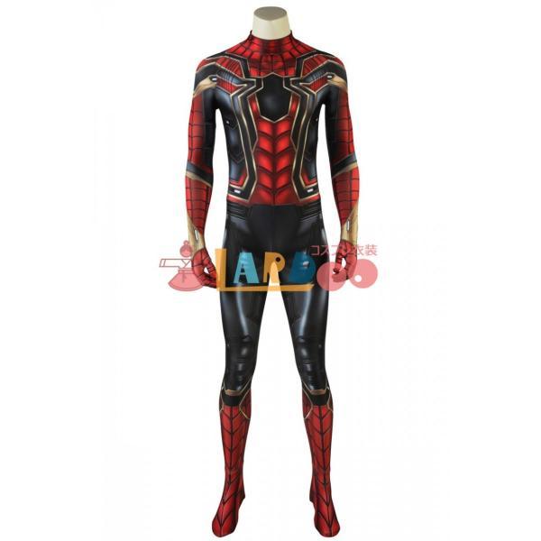 アベンジャーズ/インフィニティ・ウォー スパイダーマン Spider Man ピーター・パーカー コスプレ衣装 コスチューム 仮装 cosplay|lardoo-store|02