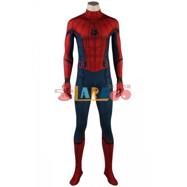スパイダーマン:ホームカミング ピーター・パーカー 修正版 Spider-Man コスプレ衣装 コスチューム コスプレ 仮装 cosplay|lardoo-store