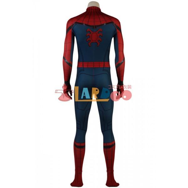 スパイダーマン:ホームカミング ピーター・パーカー 修正版 Spider-Man コスプレ衣装 コスチューム コスプレ 仮装 cosplay|lardoo-store|04